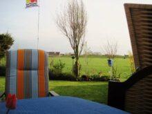 Abend auf der Terrasse vom Ferienhaus Kolks Huus Carolinensiel Harlesiel