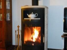 Im Herbst und Winter romantische Stunden am Kamin im Ferienhaus Kolks Carolinensiel Harlesiel
