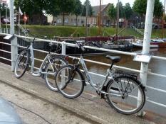 Vom Ferienhaus Kolks Huus Carolinensiel Harlesiel kann man herrliche Radtouren unternehmen entlang der Nordsee und den Deichen