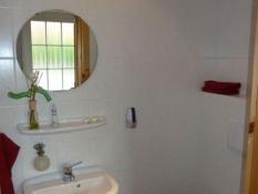 Zweites Bad mit WC im Ferienhaus Kolks Carolinensiel Harlesiel, Gäste-WC
