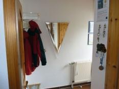 Eingang mit Garderobe im Ferienhaus Kolks Carolinensiel Harlesiel